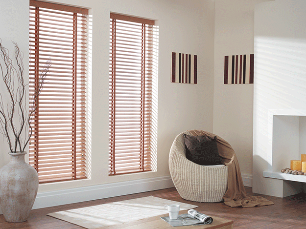 Venetian Blinds Chestnut