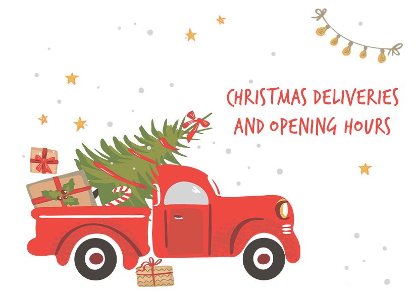 Loveless Cook Blinds Christmas Deliveries and Opening Hours