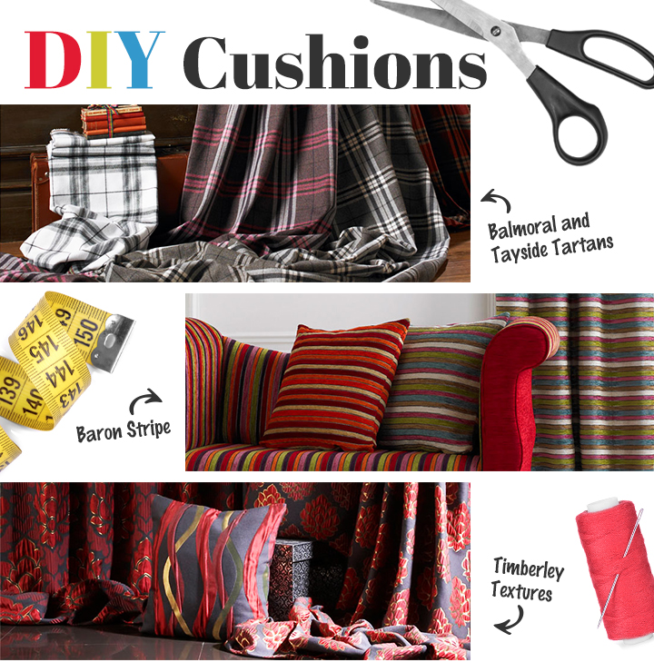 how to make a simple DIY cushion cover
