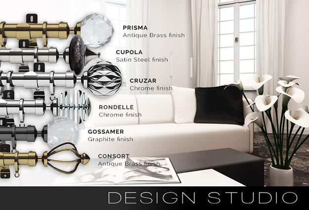 The Design Studio range