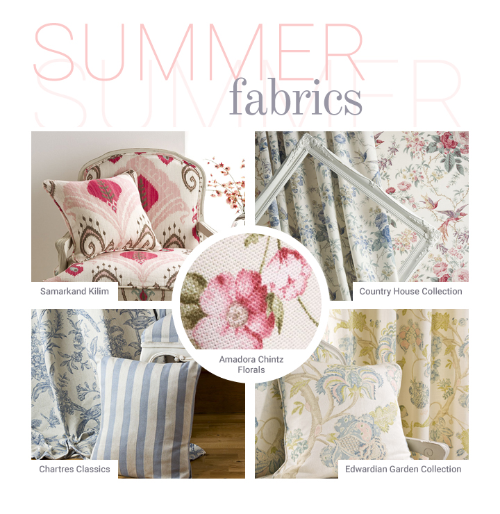 Summer Fabrics from Yorke Collections
