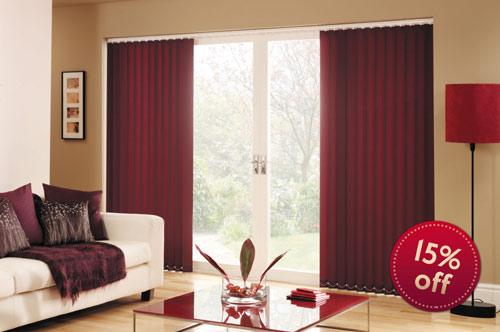 Vertical blinds special offer