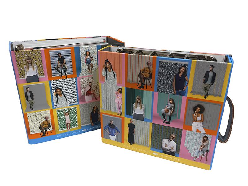 Pair of Louvolite pattern books