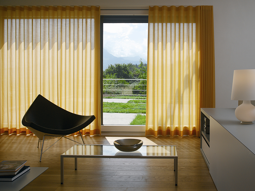 Mellow yellow curtains