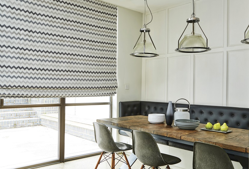 Electric pattern blinds