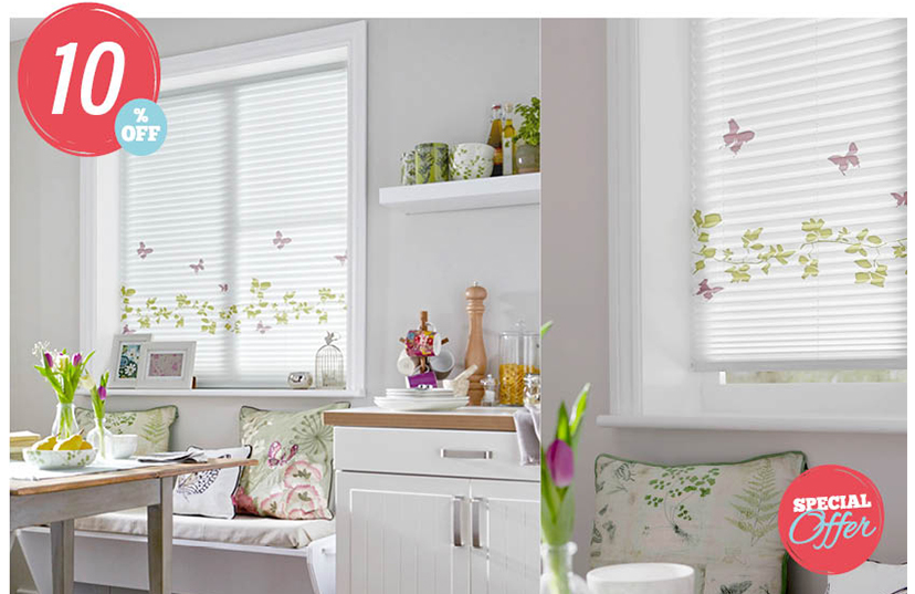 Save ten percent on the new Hive and Pleated Blinds Ranges