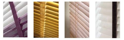Silent Gliss venetian blinds
