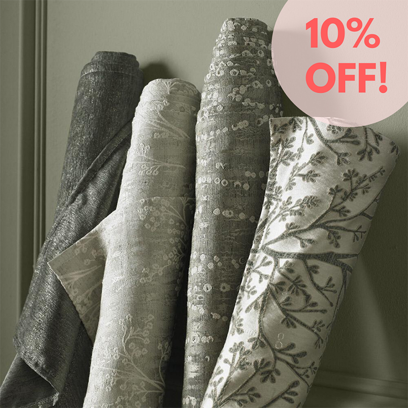 10pc off broads collection fabrics for blinds and curtains