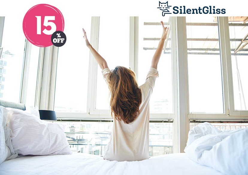 silent bliss due to silent gliss