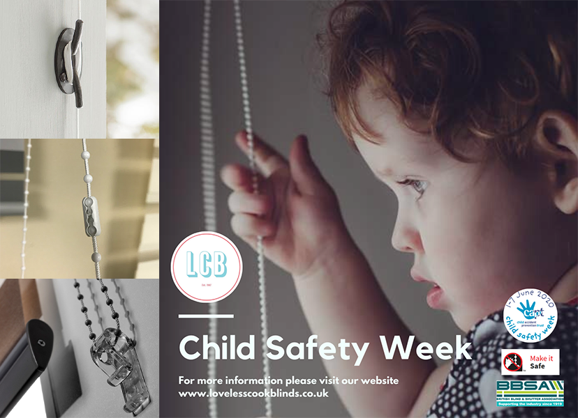 Child Safety Week Blind Fastenings