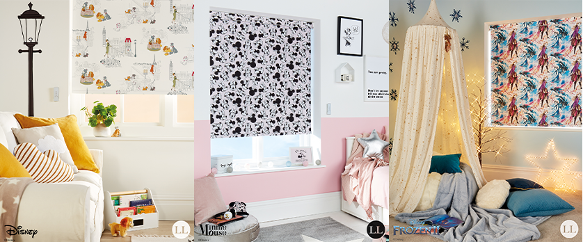 Disney Collection Blinds at Loveless Cook Blinds
