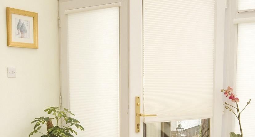 Intu blinds in a conservatory