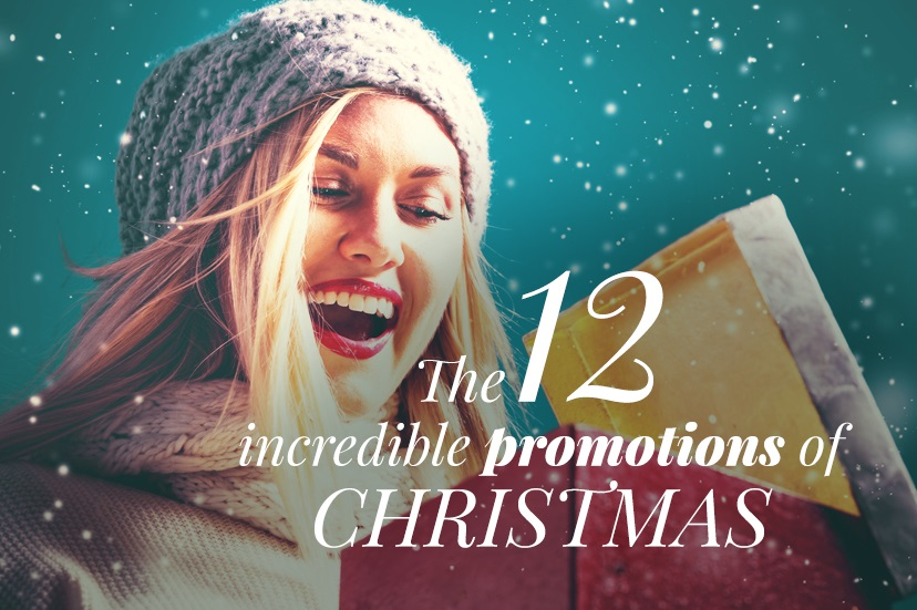 12 Promotions of Christmas