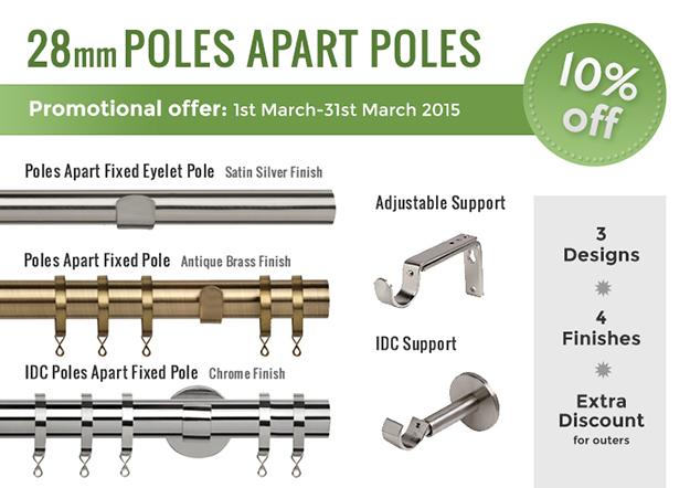 Poles Apart promotion