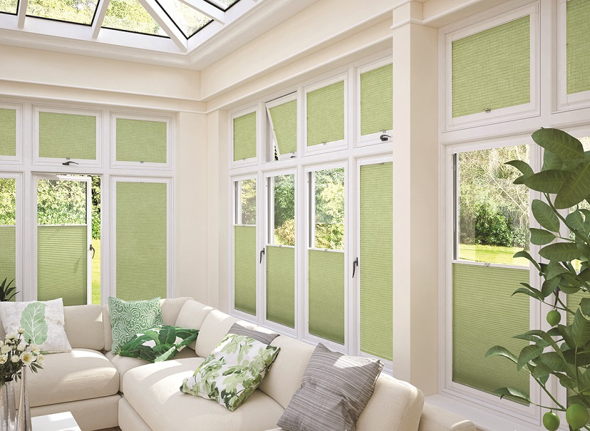 Perfect Fit Blinds Green