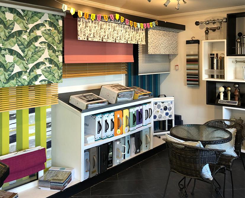 Loveless Cook Blinds Showroom in Norwich Norfolk - v671