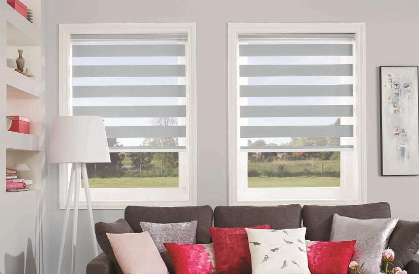motorised zebra blinds