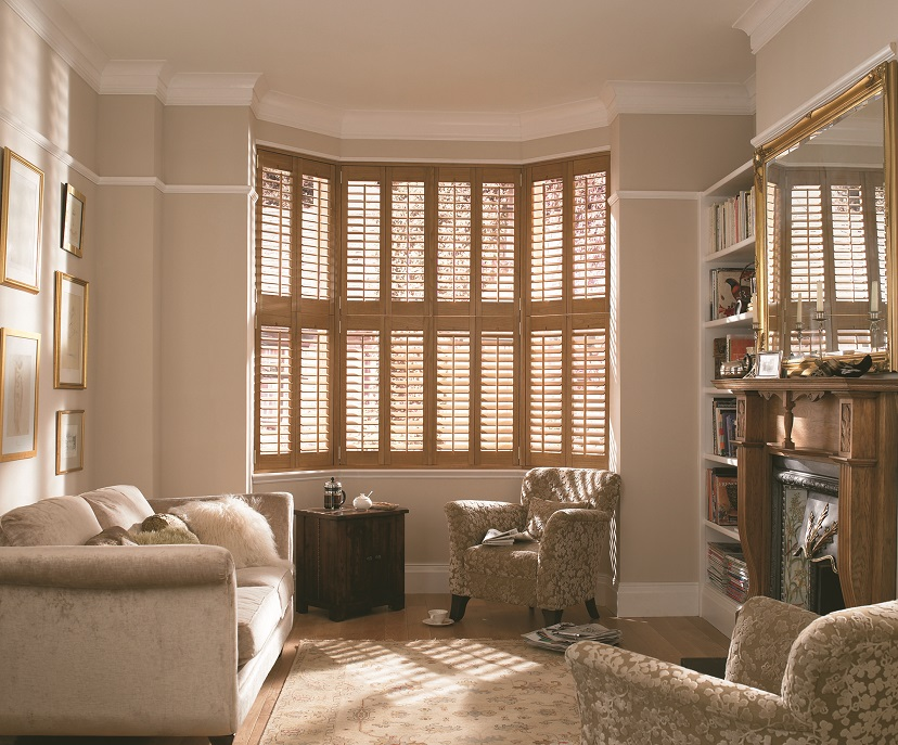 Southern style 5 discount on plantation shutters for Cheap window shutters interior