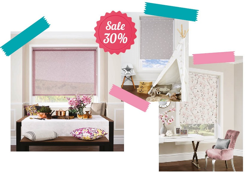 Roller blinds June promotion