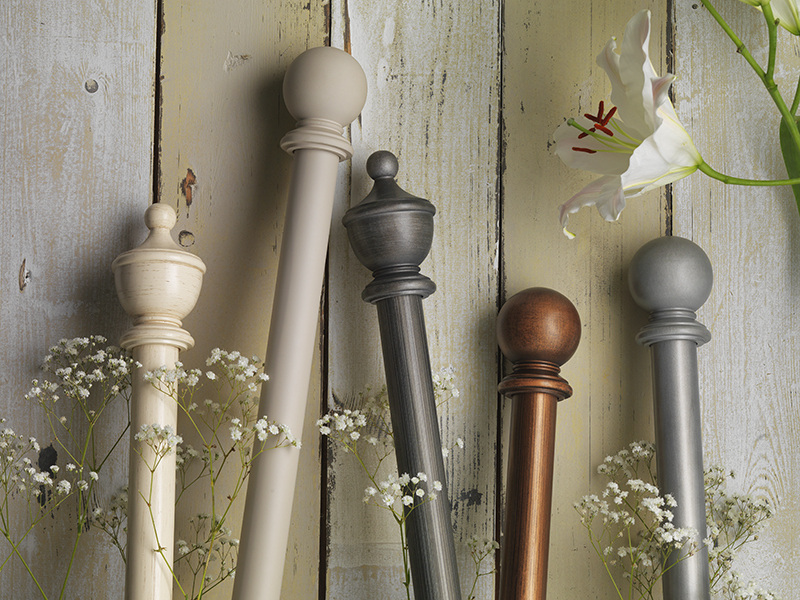 Curtain Finials for Period Properties