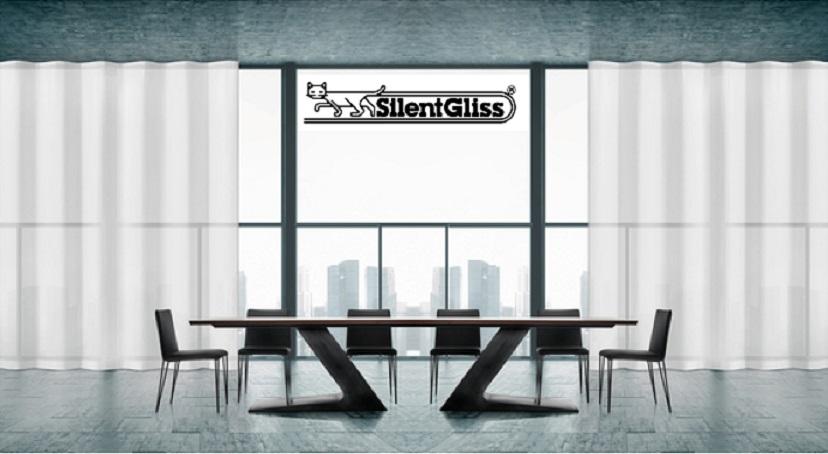 Silent Gliss Curtain Tracks Room Set