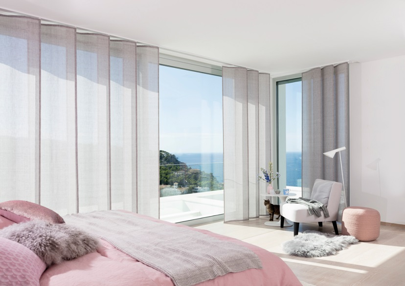 Room with blush pink accents