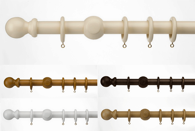 Universal Curtain Poles
