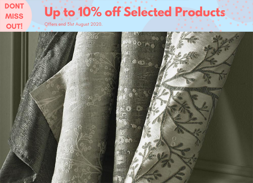 Up to 10pc Off Selected Products
