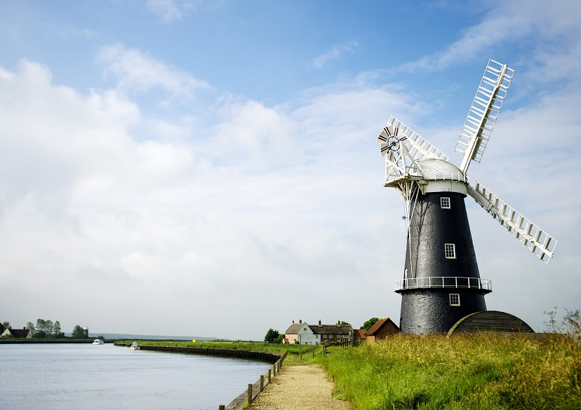 Windmill on the broads